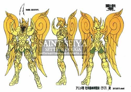 Belier soul of gold 15